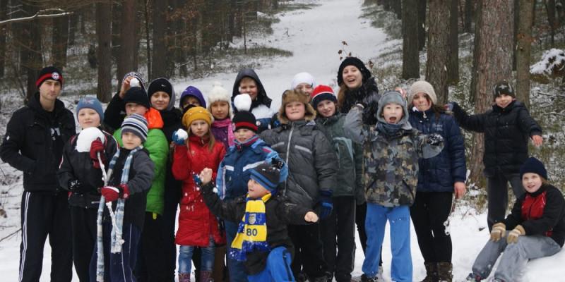 22 dzieci trenowało w Luzinie