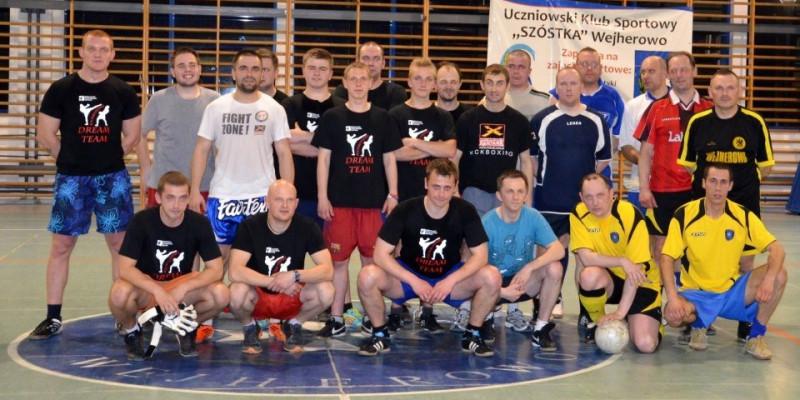 Mecz piłki nożnej Fight Zone vs Straż Miejska Wejherowo