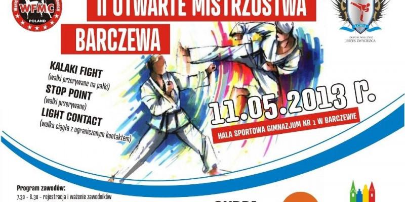 II Mistrzostwa Barczewa w sztukach walki