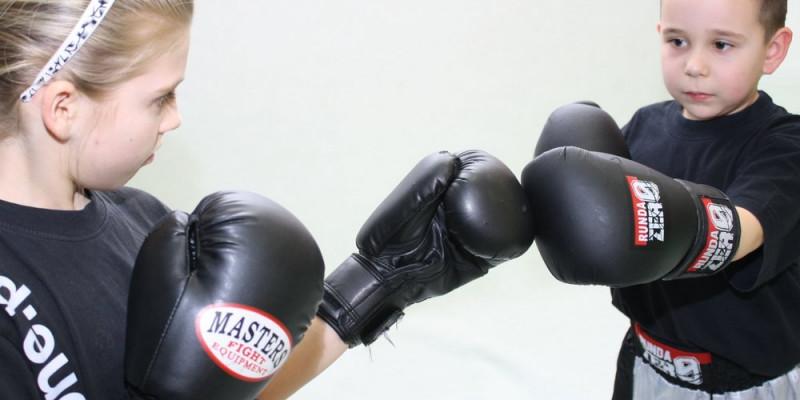 Kickboxing dla najmłodszych