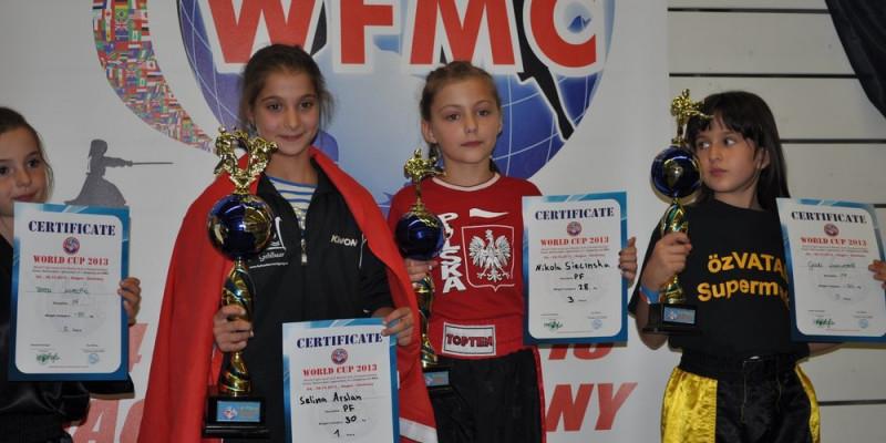 Nikola Siecińska z Rybna medalistką Mistrzostw Świata