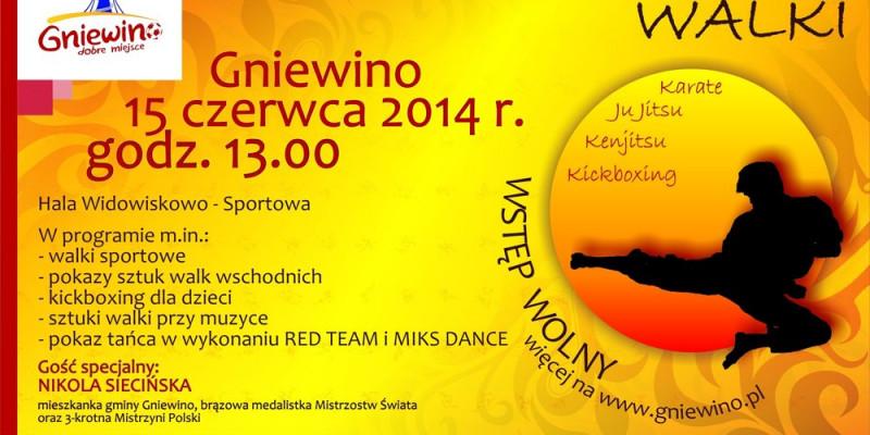 Festiwal Sztuk Walki w Gniewinie - zapraszamy