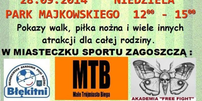 Wejherowski Dzień Sportu w Parku Majkowskiego