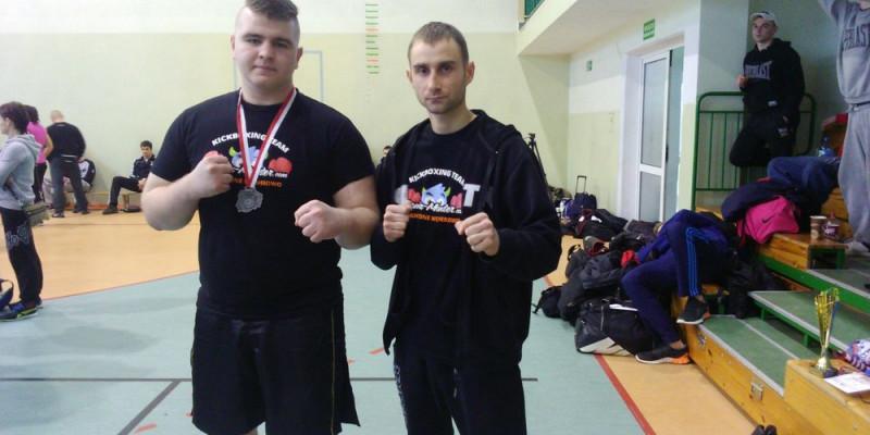 Szymon Sroka Wicemistrzem Polski w kickboxingu