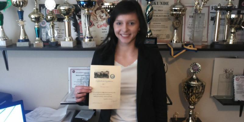 Patrycja Hinc otrzymała stypendium Dyrektora Szkoły