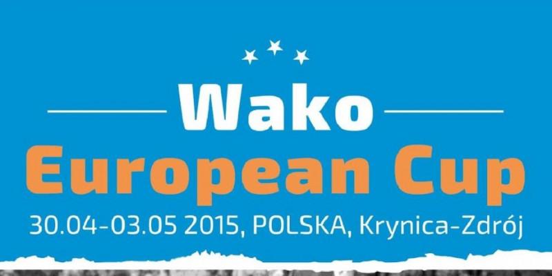 Puchar Europy WAKO - pełny skład zawodników