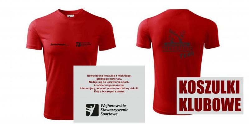 Zamówienia na koszulki klubowe