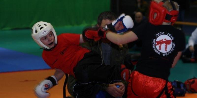 Treningi kickboxingu podczas ferii