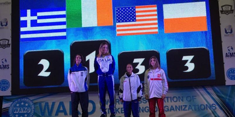 Zuzia Kalbarczyk brązową medalistką Mistrzostw Świata!