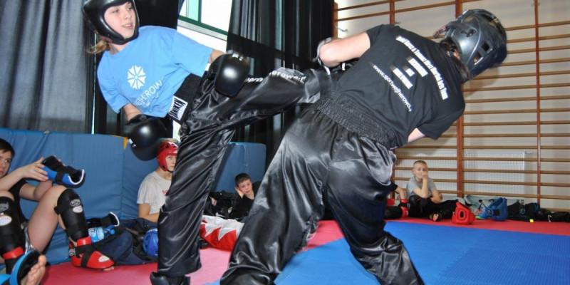 Spodnie do kickboxingu na zamówienie!