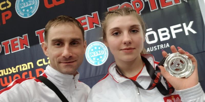 3 medale na Pucharze Świata w kickboxingu!