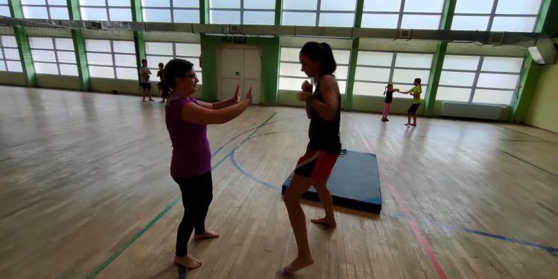 Profilaktyka poprzez sport w Strzebieline