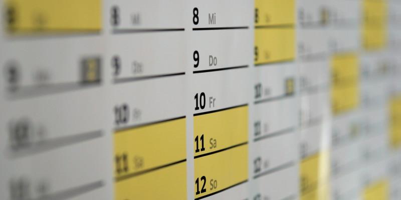 Startujemy 6 września - kalendarz klubowy